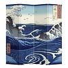 Fine Asianliving PREORDER 04/12/2020 Fine Asianliving Paravento L160xH180cm Divisori Tela 4 Pannelli Pieghevole Separatore