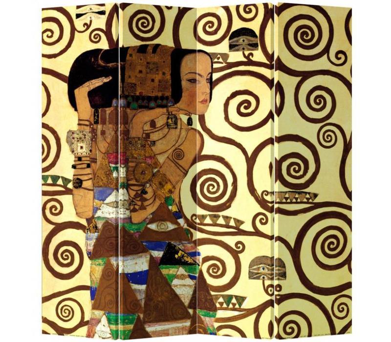 Fine Asianliving Kamerscherm Scheidingswand 4 Panelen Cleopatra