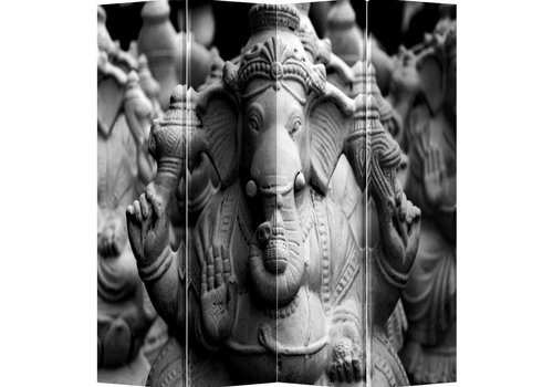 Fine Asianliving Fine Asianliving Room Divider Privacy Screen 4 Panel Ganesha