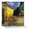 Fine Asianliving Fine Asianliving Room Divider 4 Panel Vincent van Gogh Cafe Terrace at Night L160xH180cm