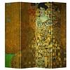 Fine Asianliving Fine Asianliving Room Divider Privacy Screen 4 Panel Gustav Klimt - Adele Bloch-Bauer Portrait L160xH180cm