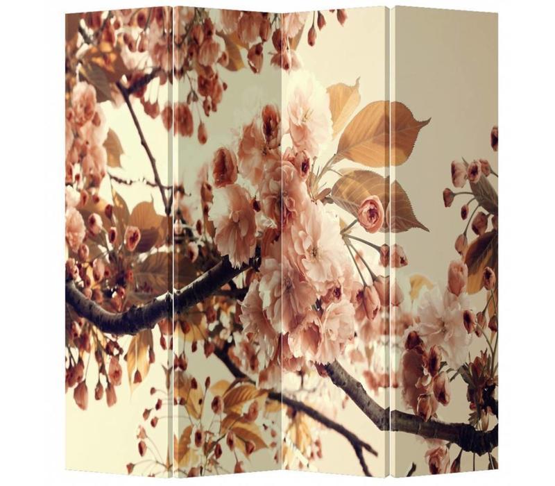 Chinees Kamerscherm 4 Panelen Kersenbloesems