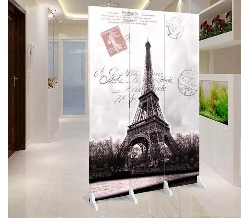 Kamerscherm 3 Panelen Eiffeltoren