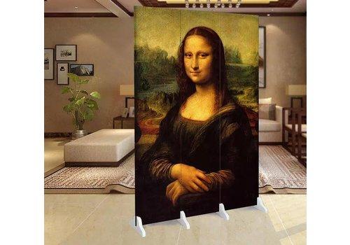 Fine Asianliving Fine Asianliving Kamerscherm Scheidingswand 3 panelen Mona Lisa L120xH180cm