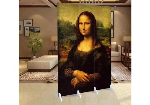 Fine Asianliving Fine Asianliving Room Divider Privacy Screen 3 Panel Mona Lisa L120xH180cm