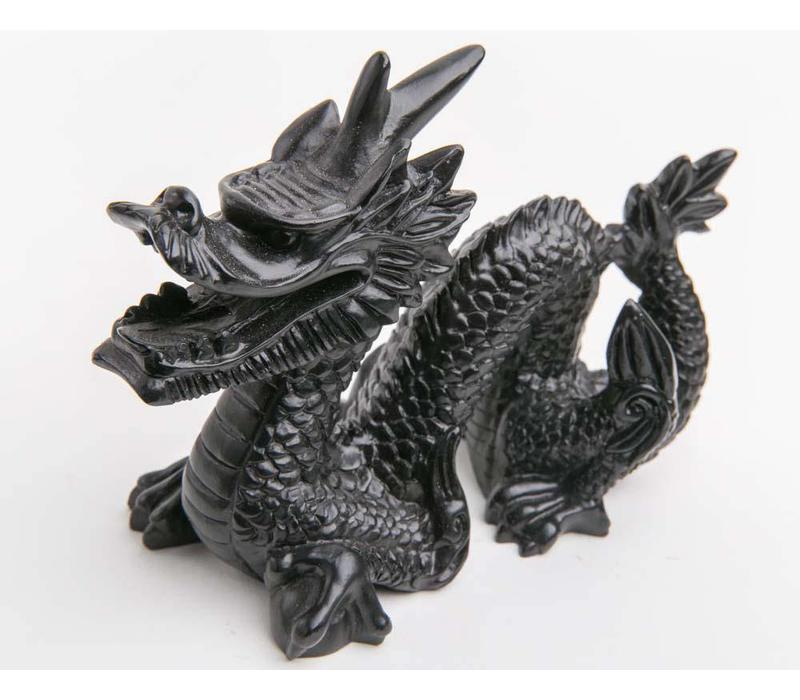Chinese Draak Middel Zwart