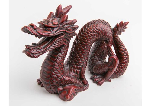 Fine Asianliving Chinese Dragon Large Dark Red