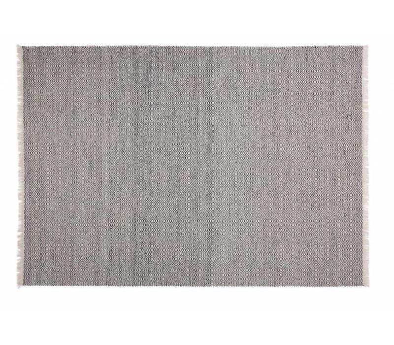 Alfombra Ballista Negra 160x230cm