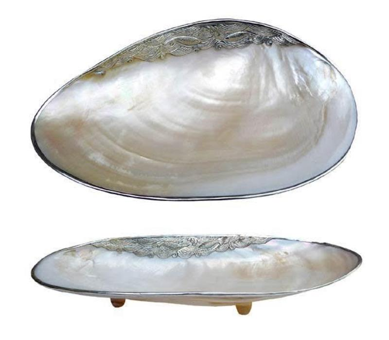 Vietnamese Mussel Shell Mother of Pearl Nacre Plate