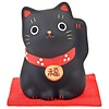 Fine Asianliving Lucky Cat Maneki Neko Black