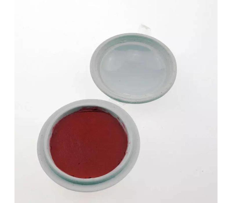 Chinese Seal Paste Chinese Calligraphy Stamp Bright Red