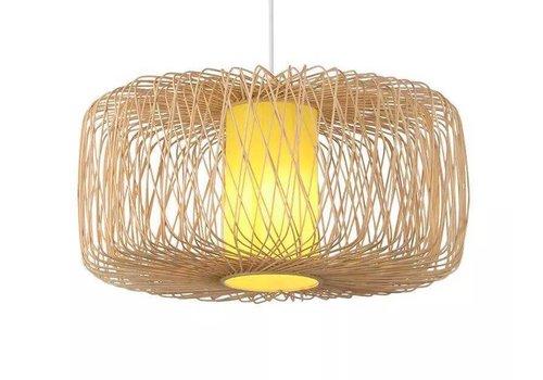 Fine Asianliving Bamboo Pendant Lamp Ceiling Lampshade Handmade - Noelle