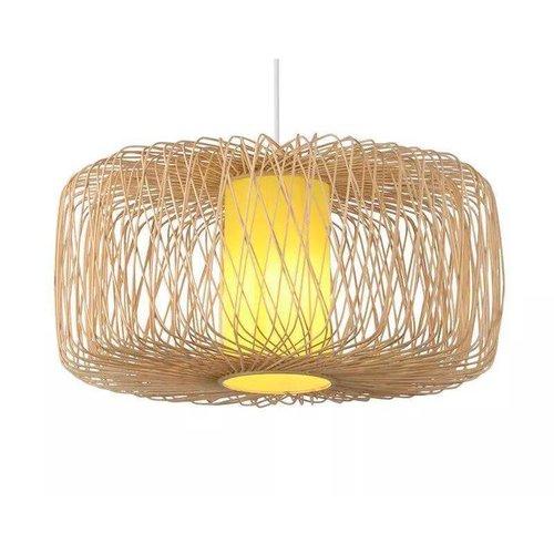 Ceiling Light Pendant Lighting Bamboo Lampshade Handmade - Noelle