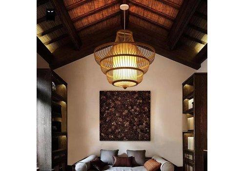 Fine Asianliving Bamboe Handgemaakte Hanglamp