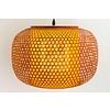 Fine Asianliving Japanse Bamboe Webbing Hanglamp - Shiroi D42xH30cm
