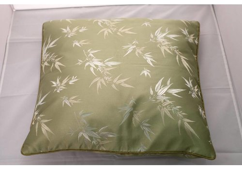 Fine Asianliving Chinese Cushion Green Bamboo 40x40cm