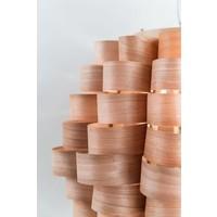 Houten Hanglamp Handgemaakt - Madeira Collectie B60xD60xH45cm