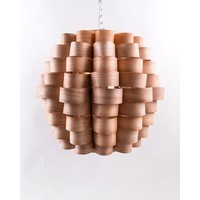 Wooden Pendant Lamp Handmade - Madeira Collection W60xDx60xH45cm