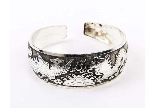 Fine Asianliving Armband Cuff Dragon
