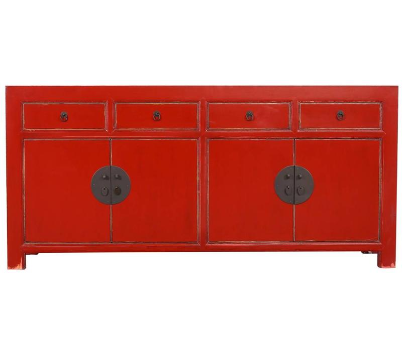 Fine Asianliving Chinees Dressoir L180xB40xH85cm Lucky Rood