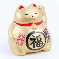 Lucky Cat Maneki Neko Goud - Better Fortune