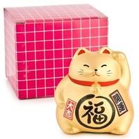 Lucky Cat Maneki Neko Gold - Better Fortune