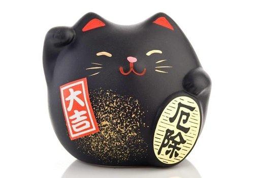 Fine Asianliving Lucky Cat Maneki Neko Klein - Against Bad Luck