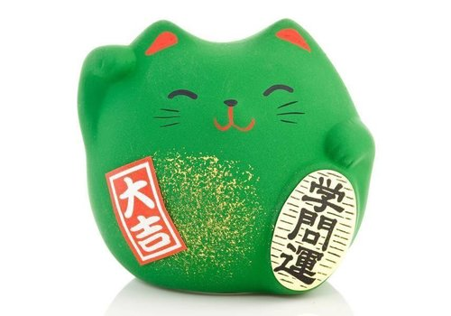 Fine Asianliving Lucky Cat Maneki Neko Small - School - Study