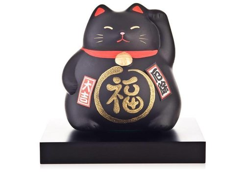 Fine Asianliving Lucky Cat Maneki Neko - Against Bad Luck