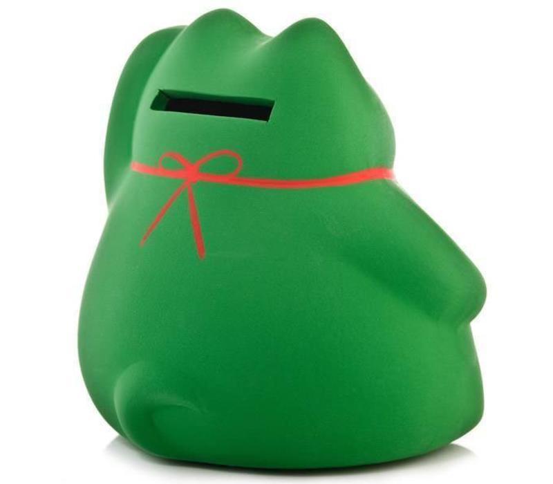 Lucky Cat Spaarpot Groen - Study