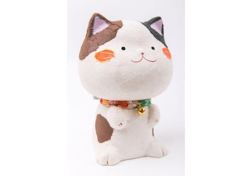 Fine Asianliving Tarafuku Lucky Cat Maneki Neko Gelukskat Washi M