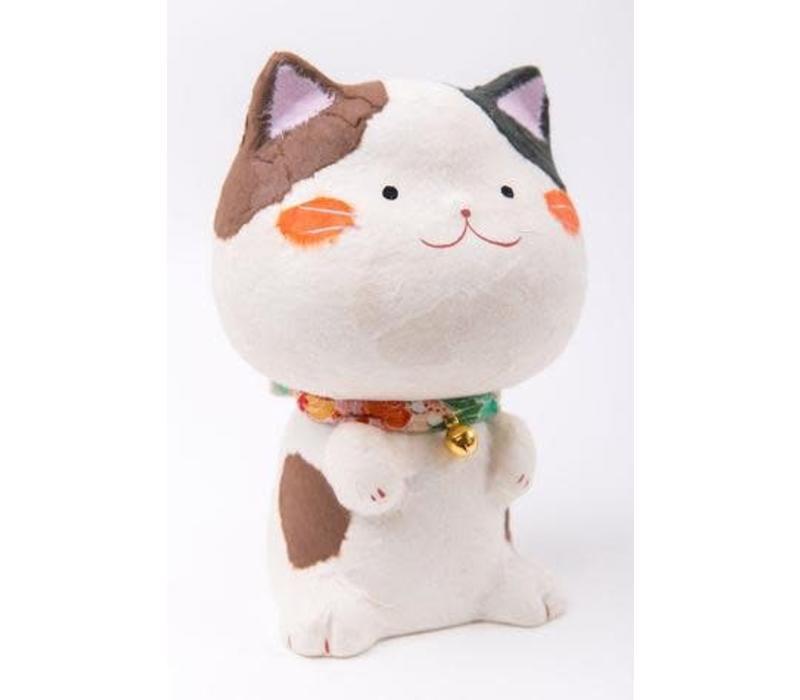 Tarafuku Lucky Cat Maneki Neko Gelukskat Washi M