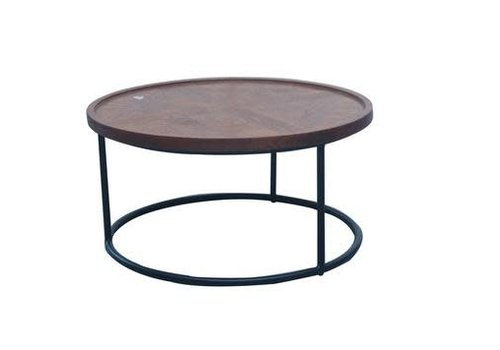 Fine Asianliving Fine Asianliving Coffee Table Round Wood/Staal