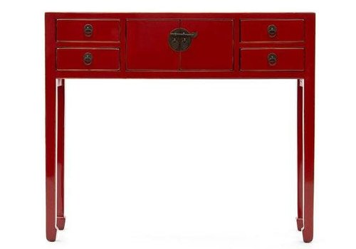 Fine Asianliving PREORDER Chinees Sidetable Rood