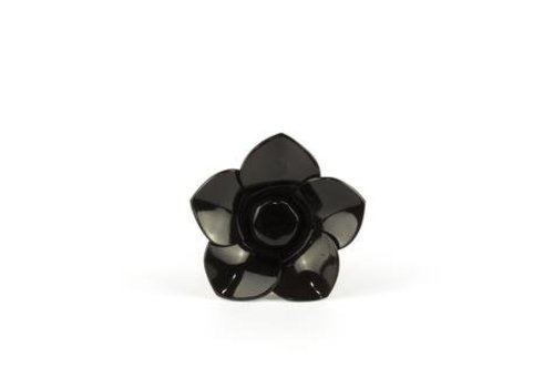 Fine Asianliving Pin Horn Chouchou Black