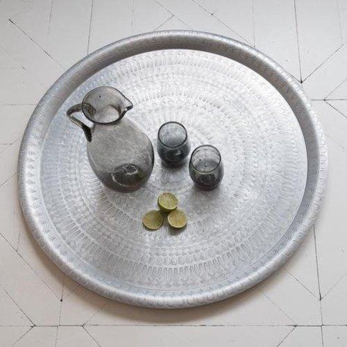 Schaal Zilver met Antieke Uitstraling Medium