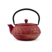 Gietijzeren Thee Set Giftset Shanghai Roze/Goud