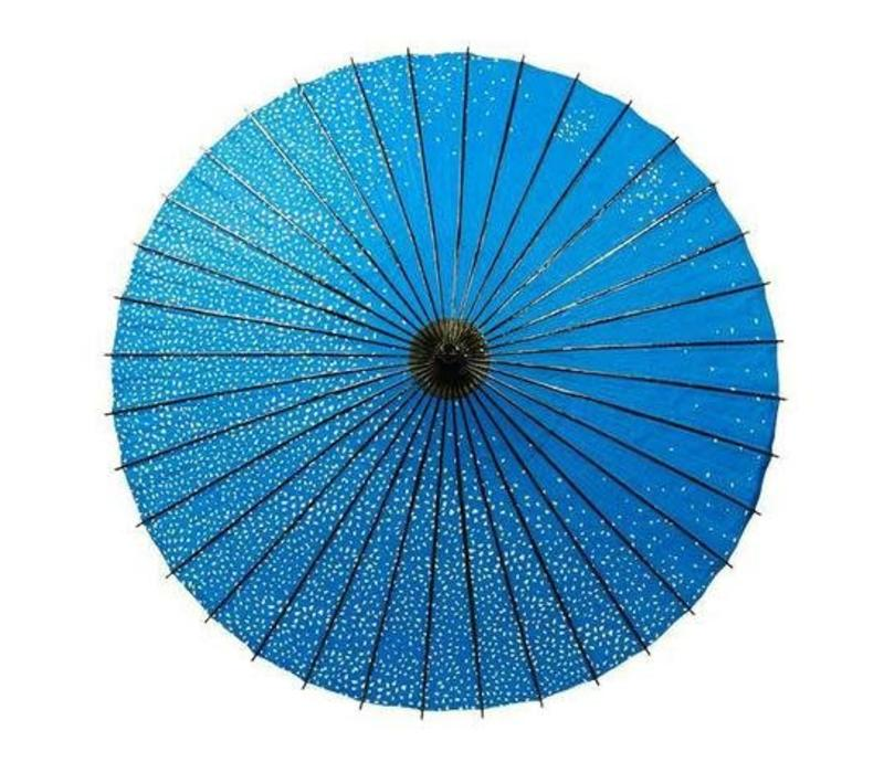 Japanese Parasol Lak Japanese Sakura Kersenbloesem Blue
