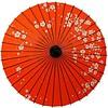 Fine Asianliving Japanese Parasol Lak Pruimbloesem Red