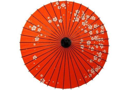 Fine Asianliving Japanse Parasol Lak Pruimbloesem Rood