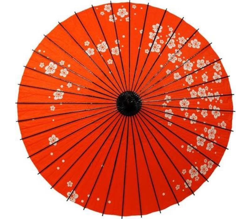 Japanese Parasol Lak Pruimbloesem Red
