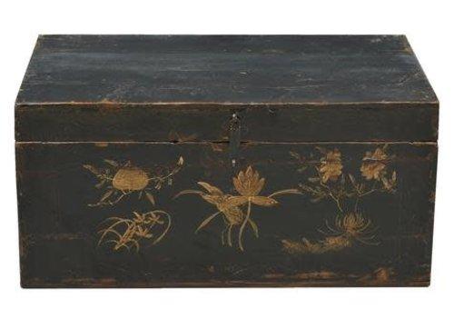 Fine Asianliving Oude Chinese Kist Handbeschilderd  - Gansu China