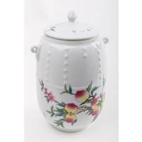 Chinese Tea Voorraadbus Porcelain Perzik