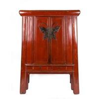 Antieke Chinese Kast met Vlinder Yuwood