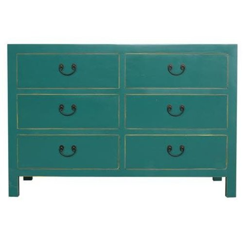 Fine Asianliving Chinese Ladekast Teal