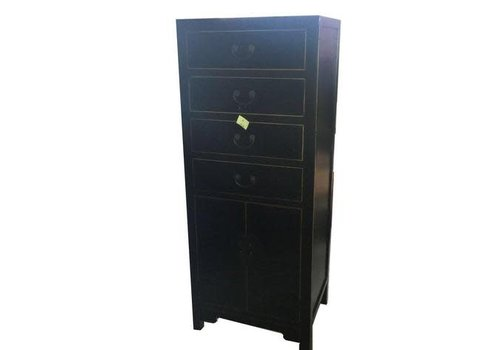 Fine Asianliving Fine Asianliving Chinese Black Cabinet Drawers