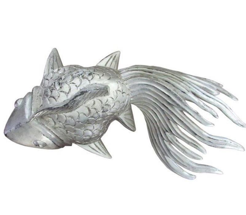 XL Silver Lucky Fish