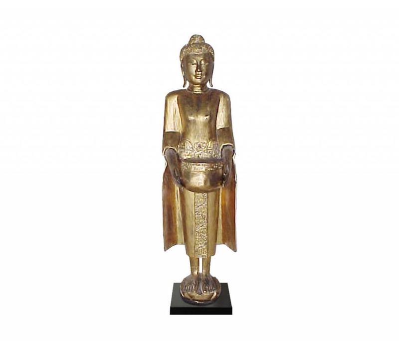Thai Buddha On Stand Gold