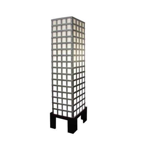 Fine Asianliving Thai Floor Lamp Ricepaper and Steel