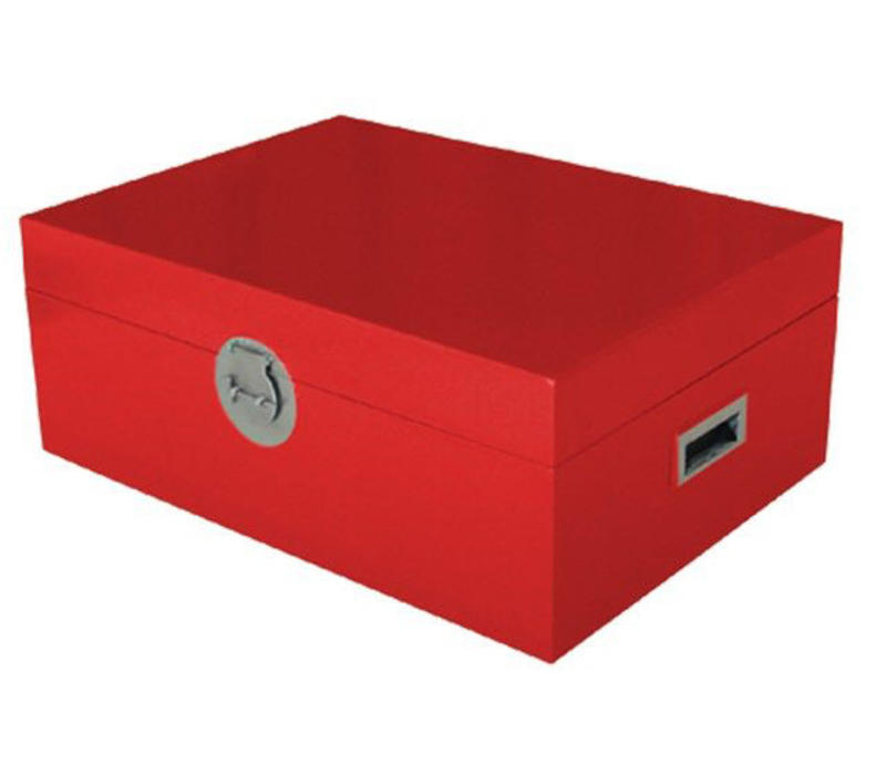 Fine Asianliving Thai Storage Box Red